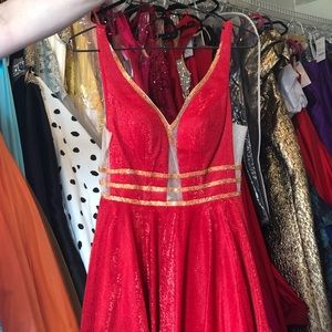 Dresses & Skirts - Gorgeous red Jovani dress